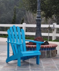 Adirondack Chair - Blue