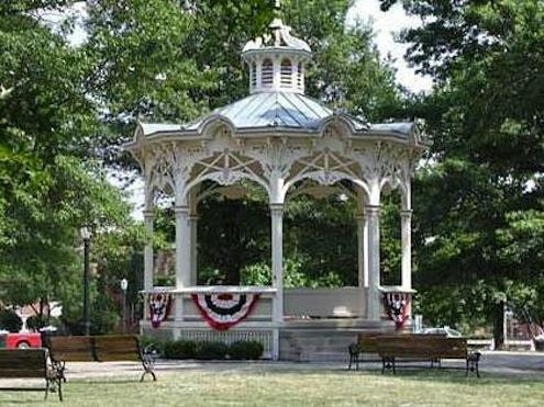 Historical Gazebo in Medina, Ohio. Photo: activerain.com