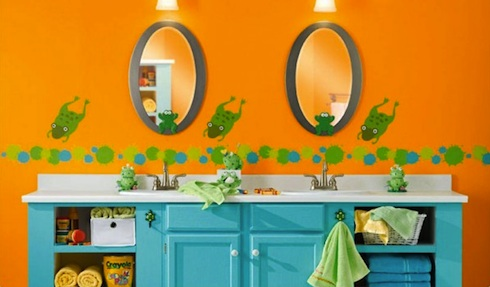 Freshhome-kids-bathroom_orange-e1307238037266