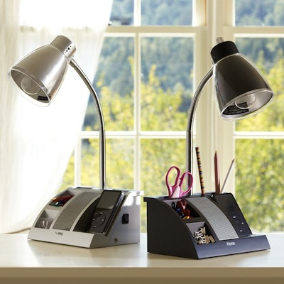 Adjustable-lamp desktop task light