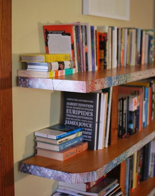 DIY Bookshelves Ideas 495 x 624