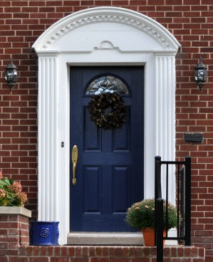 Choose a Door - Dark Blue Front Door