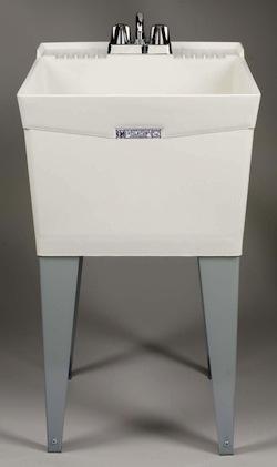 Basement Utility Sink : Molded Single Laundry/Utility Sink from Ace Hardware