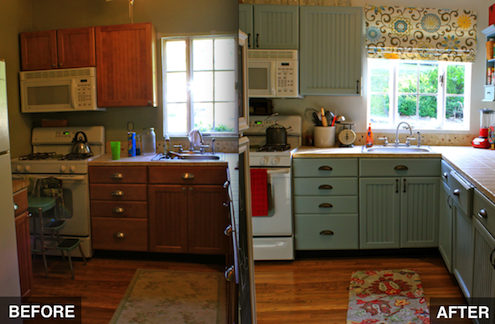 DIY Kitchen Makeover (Without the Renovation)