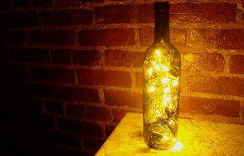 Wine Bottle DIY - Lantern