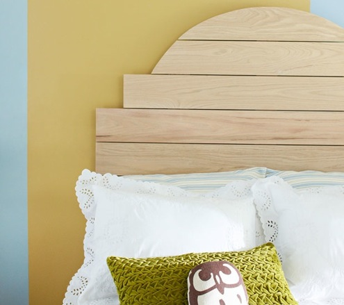 DIY Headboards - Round Top Headboard