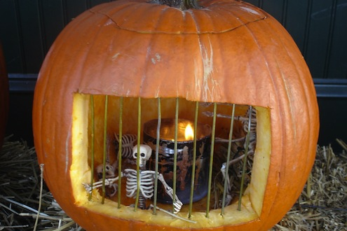 Pumpkin Jail