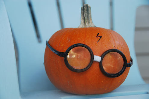 Pumpkin Harry Potter