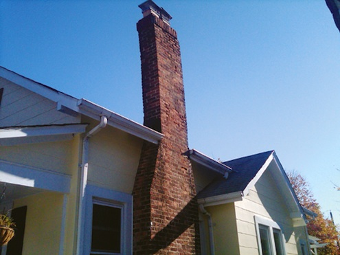 Tilting Chimney