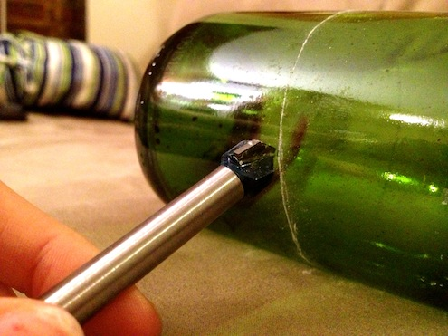 how to cut wine bottles bob vila
