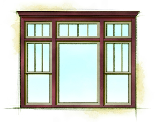 Home Style Pattern Books - Window Finish