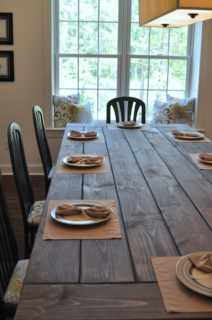 DIY Farm Table Projects - East Coast Creative