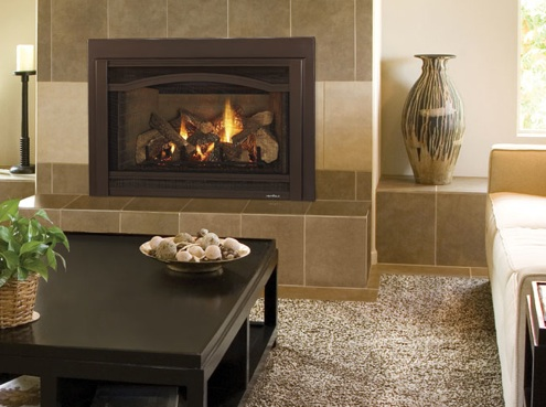 The Grand I35 Fireplace Insert from Heat & Glo.