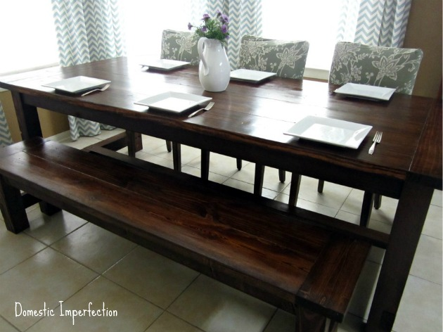 DIY Farm Table Projects - Domestic Imperfection