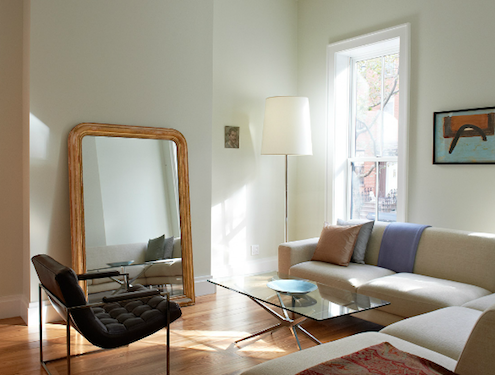 Large Floor Mirrors - Cheever Place Townhouse