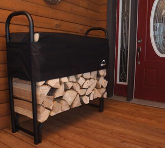 firewood types - shelterlogic covered firewood rack
