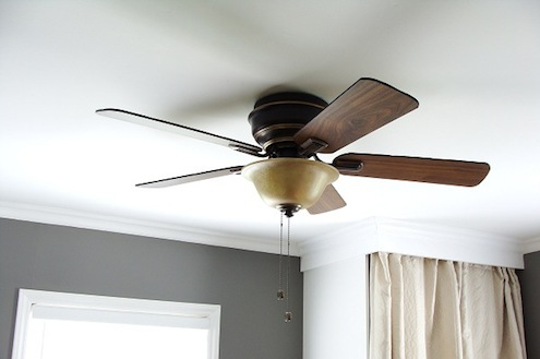 Ceiling Fans in the Winter