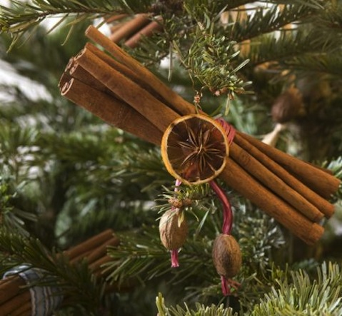 DIY Cinnamon Stick Ornaments