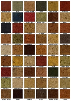 Cork Flooring - Colors