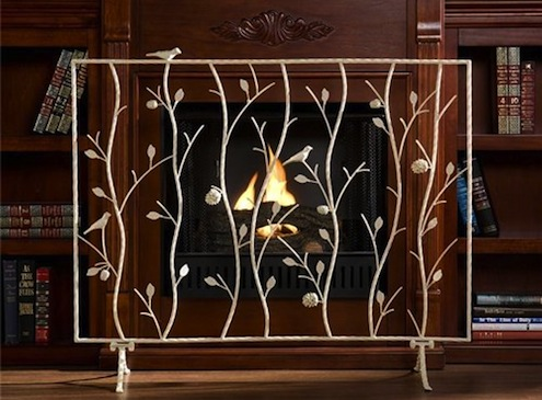 Fashionable Fireplace Accessories Screen