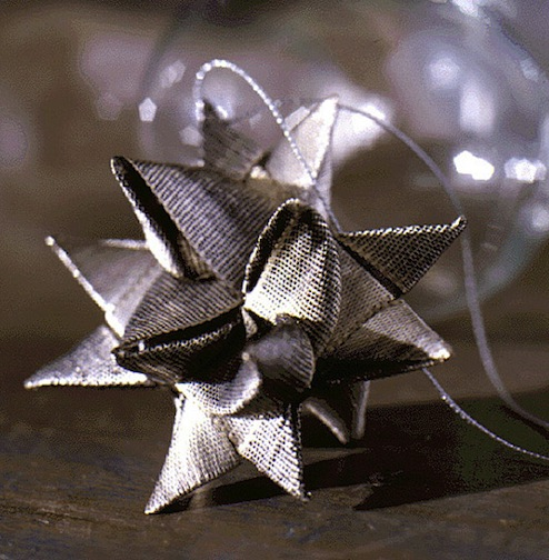 DIY German Star Ornaments