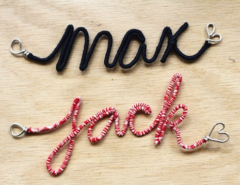 DIY Personalized Ornaments
