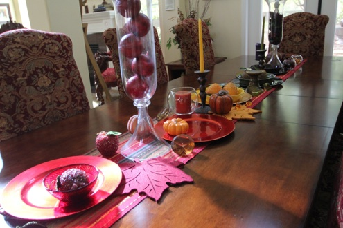 Space Planning Dining Room Thanksgiving
