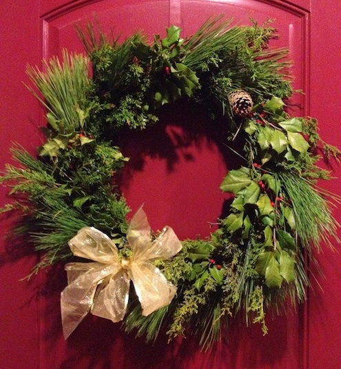 How to Make a Wreath - Evergreen