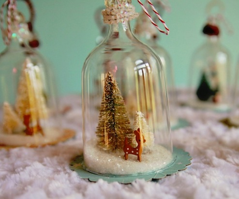 DIY Bell Jar Ornament