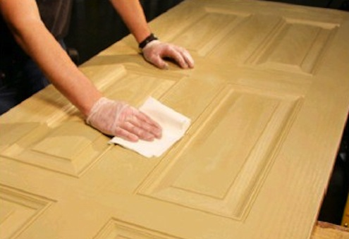 Finishing Fiberglass Doors