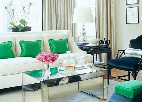 Emerald Green - Accent Pillows