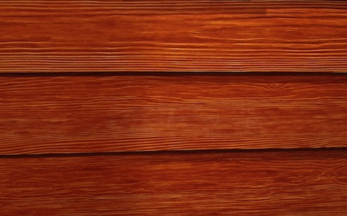 Stain-finished WeatherBoard fiber cement from CertainTeed