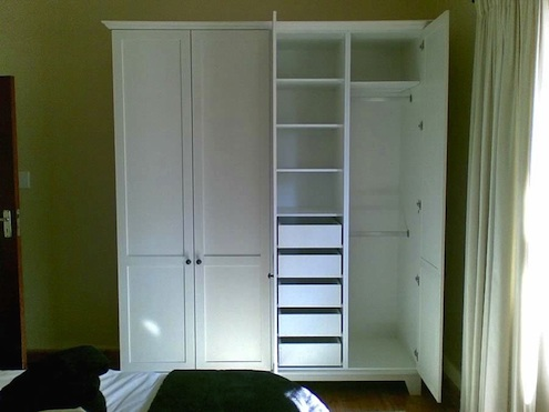 How to add a closet where there is none bob vila for Stand alone wardrobe