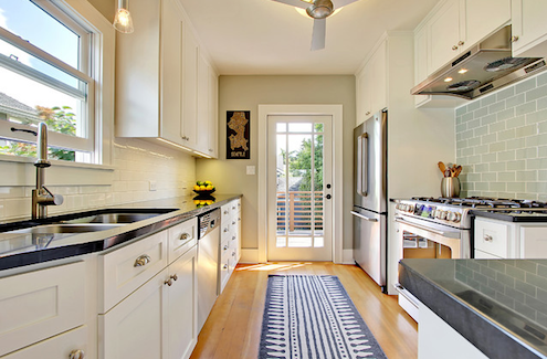 Galley Kitchens - Katie Hastings Design