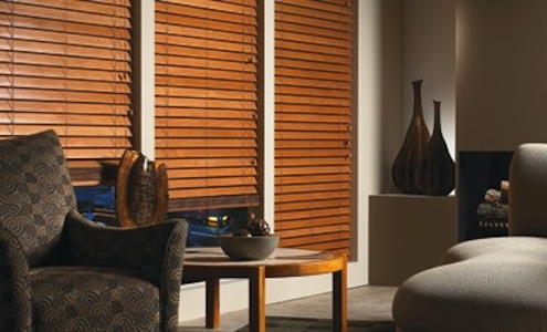 Choosing Custom Window Treatments - Wood Blinds