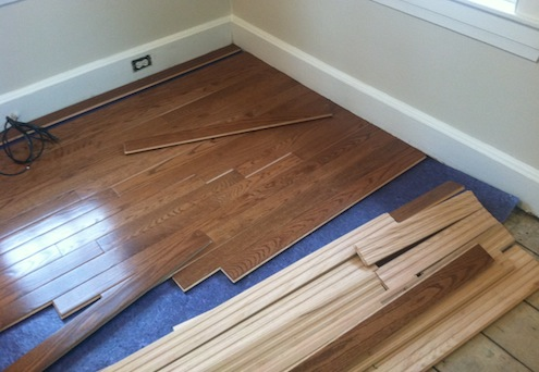Refinish or Replace Wood Floor - Pre-Finished