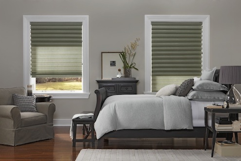 Choosing Custom Window Treatments - Accordion Blinds