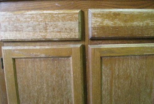 How to Restore Cabinets - Wood Stain