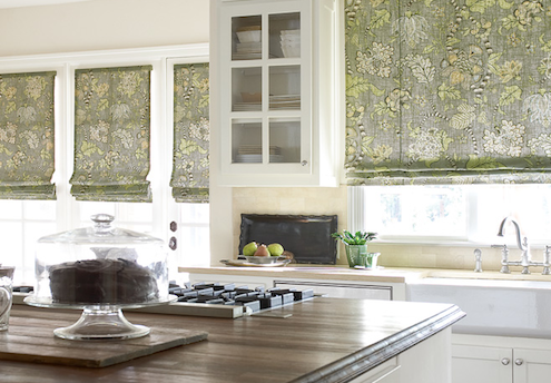 Choosing Custom Window Treatments - Roman Shades