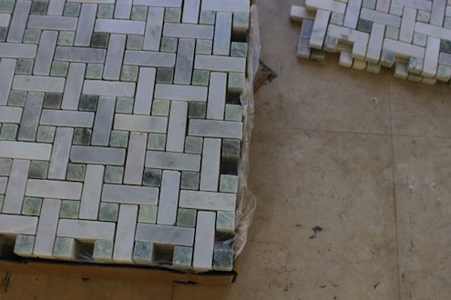 Five on Friday - Basket-Weave Tile