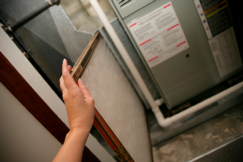 Change a Furnace Filter - Fiberglass Replacement