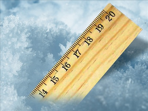 Snow Measurement - Ruler
