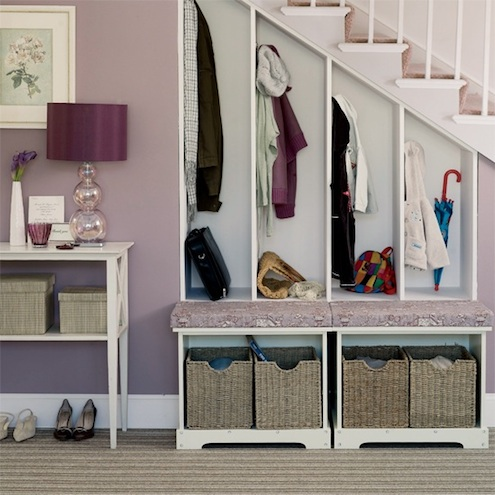 Add a Closet - Under Stairs Storage Solution