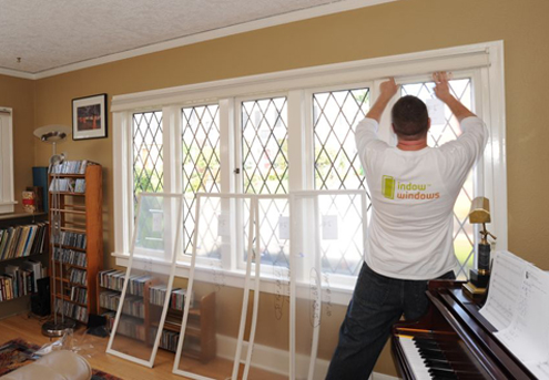 Interior Storm Windows - Installation