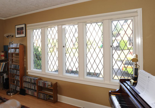 Interior Storm Windows - Installed