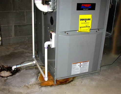 Replacing a furnace