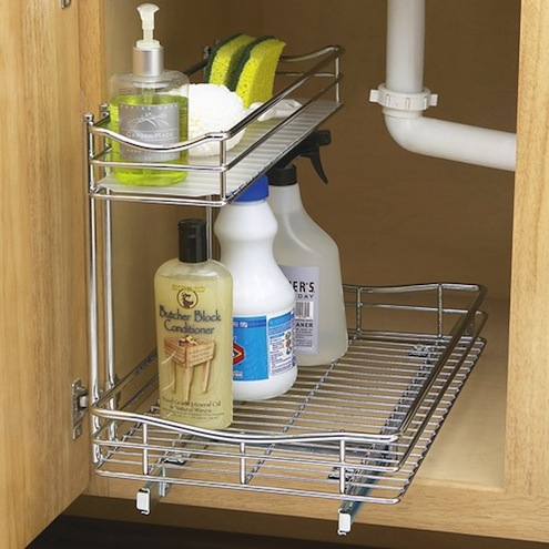 Kitchen Organization Tips - Awkward Spaces