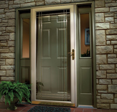 Installing storm doors bob vila 39 s blogs for Storm doors for double entry doors