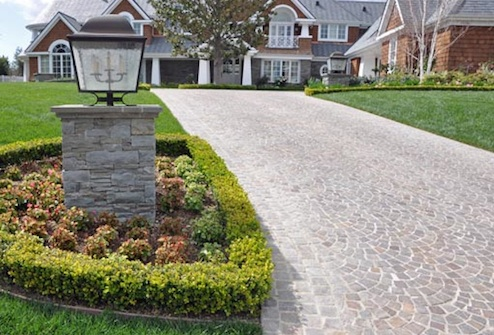 gallery for gravel driveway designs ideas