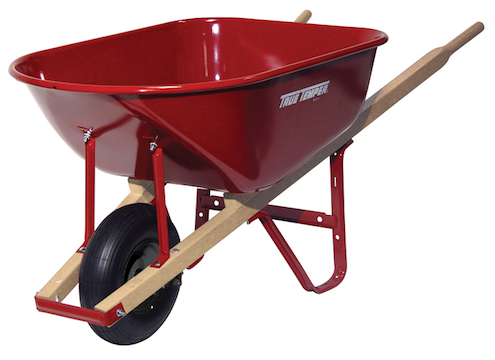 How to Choose a Wheelbarrow - Pneumatic Tire